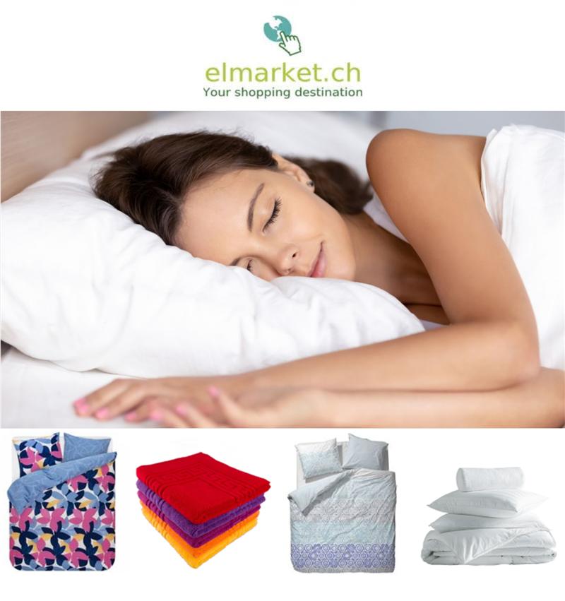 elmarket.ch- Shop für Bettwaren und Haushaltartikel